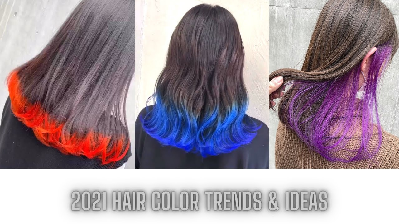 2021 Hair Color Trends Ideas The Best 2021 Hairstyles For Girl Hair Color Transformation Youtube