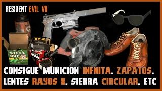 Resident Evil 7: Objetos y Armas Secretas