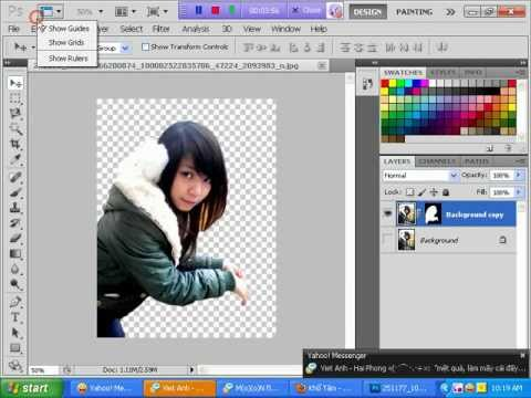 Cat hinh, Chinh anh, chinh canh bang photoshop - ky thuat Puppet warp - LinhIT or cpnetpro.wmv