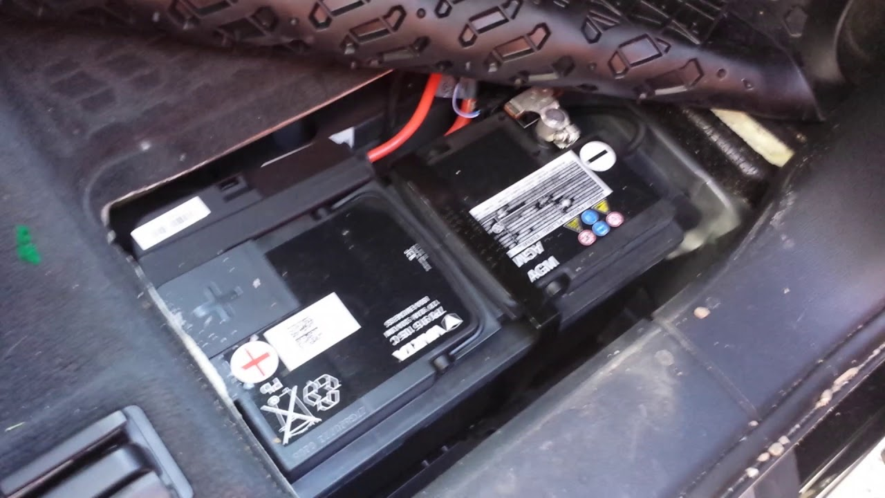 2017 Audi Q7 battery location