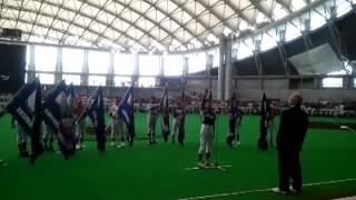 平成24年度札幌市少年軟式野球連盟・総合開会式で、選手を代表して選手...