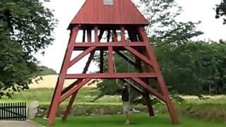 Dänemark: Glockenturm der Skallerup Kirke