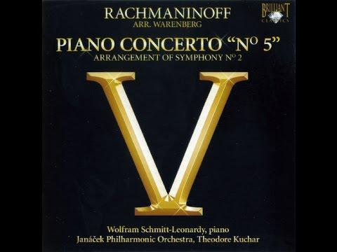 Piano Concerto as an arrangement of Rachmaninoff's Symphony No 2