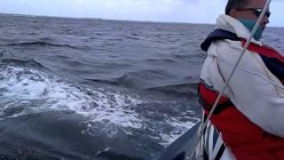 Østersøregatta 2013. Grand Soleil 37, Malahide på vej hjem til Svendborg