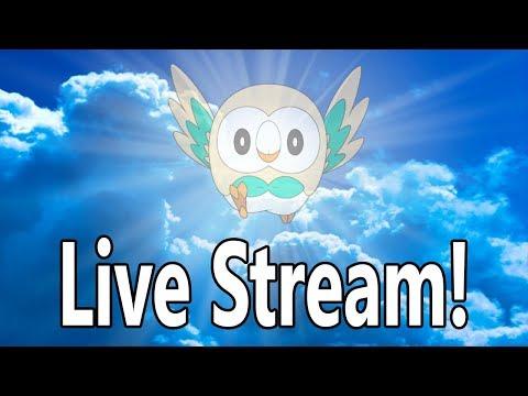 ROWLET SOLO RUN Pokemon Ultra Moon w/ Kangascloud