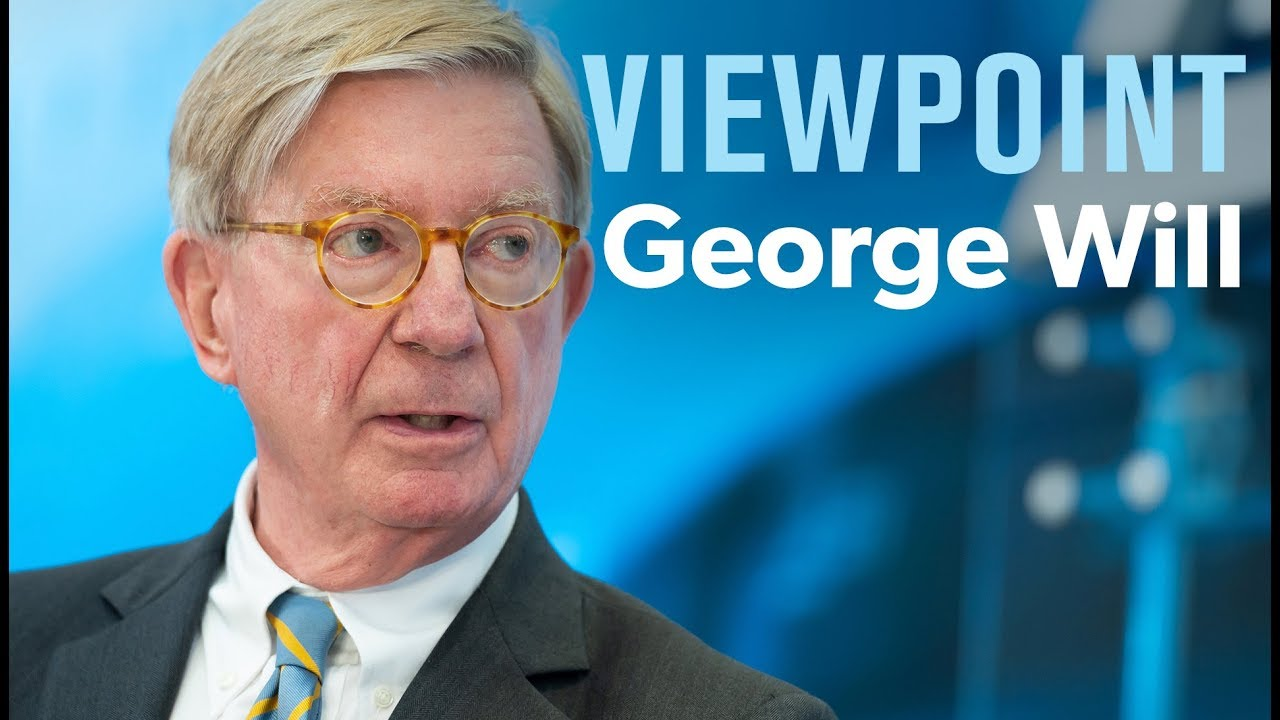 Conservative columnist George Will wins over liberals with scathing ...