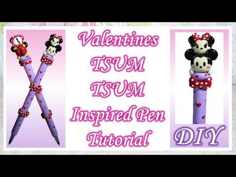 Valentines Tsum Tsum Inspired Pen Tutorial [VALENTINES COLLAB]