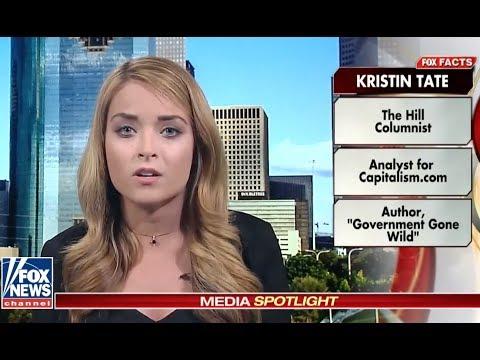 Kristin Tate Debates Jessica Tarlov on Fox News' #MediaBuzz