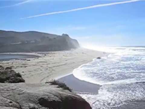 San Gregorio State Beach, Pacific Coast Highway(Highway One), California, February, 2007