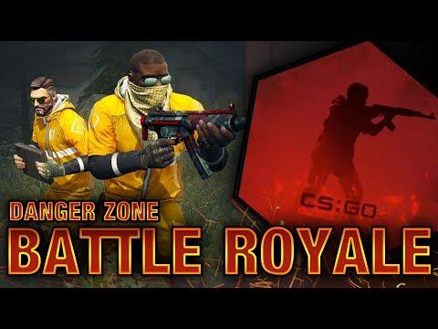 NUEVO BATTLE ROYALE: Danger Znone | ¡PRIMERA VICTORIA!.. | CS:GO