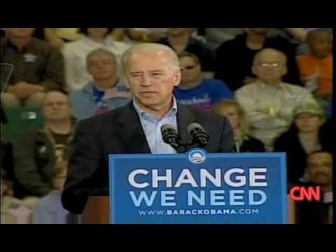 Joe Biden : don't attack Obama from YouTube · Duration:  51 seconds