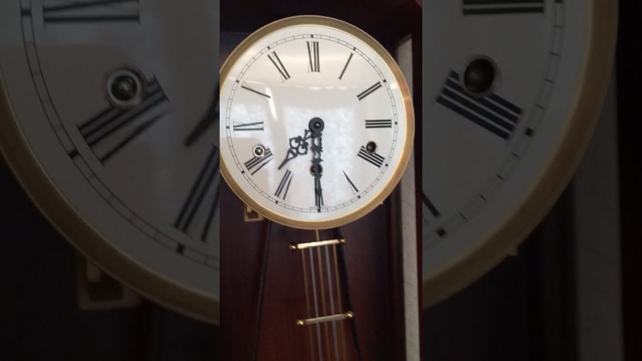 Kieininger Westminster chime wall clock for sale on eBay uk YouTube