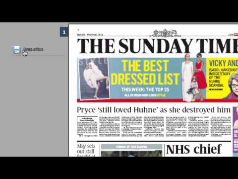 The Times & The Sunday Times - How To Read The Newspaper Offline Using Pressreader