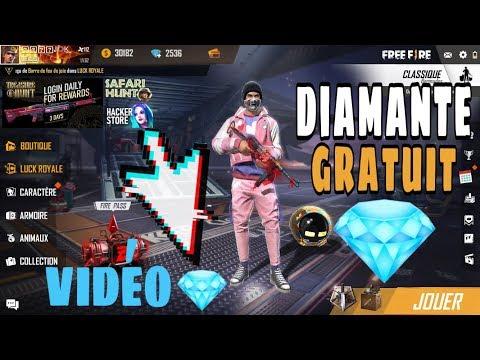 comment avoir des diamants dans free fire