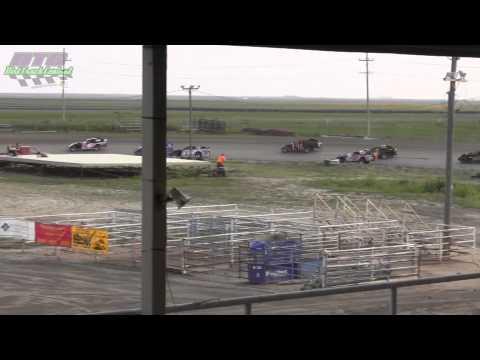 IMCA Sport Mod Heats Thomas County Speedway 8 18 13