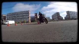 Обучение вождения мотоцикла