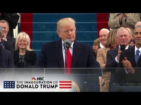 President Donald Trump s Inaugural Address (Full Speech) | NBC News