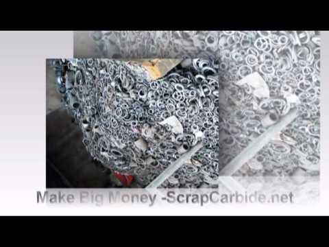 Make Big Money With Scrap Carbide Tungsten Metal