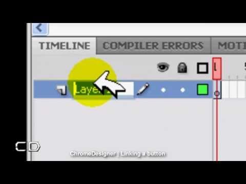 Flash CS5 - Linking a Button to a URL Tutorial (HD)