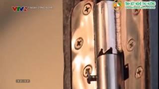Việt Nam: Sáng chế bản lề cửa thông minh không cần dụng cụ giữ cánh cửa khi mở