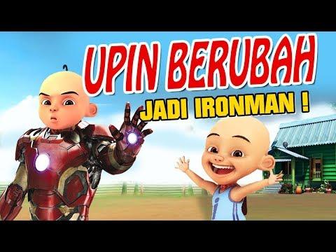 Upin Ipin Berubah Jadi Ironman , Ipin Senang GTA Lucu