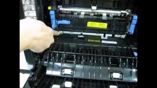 installing the dell 2335dn fuser maintenance kit adf pickup and separation pad