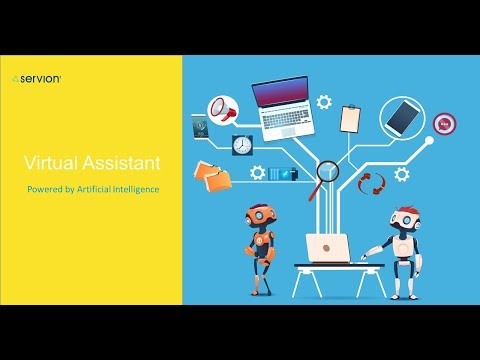 Virtual Assistant  - powered by Artificial Intelligence