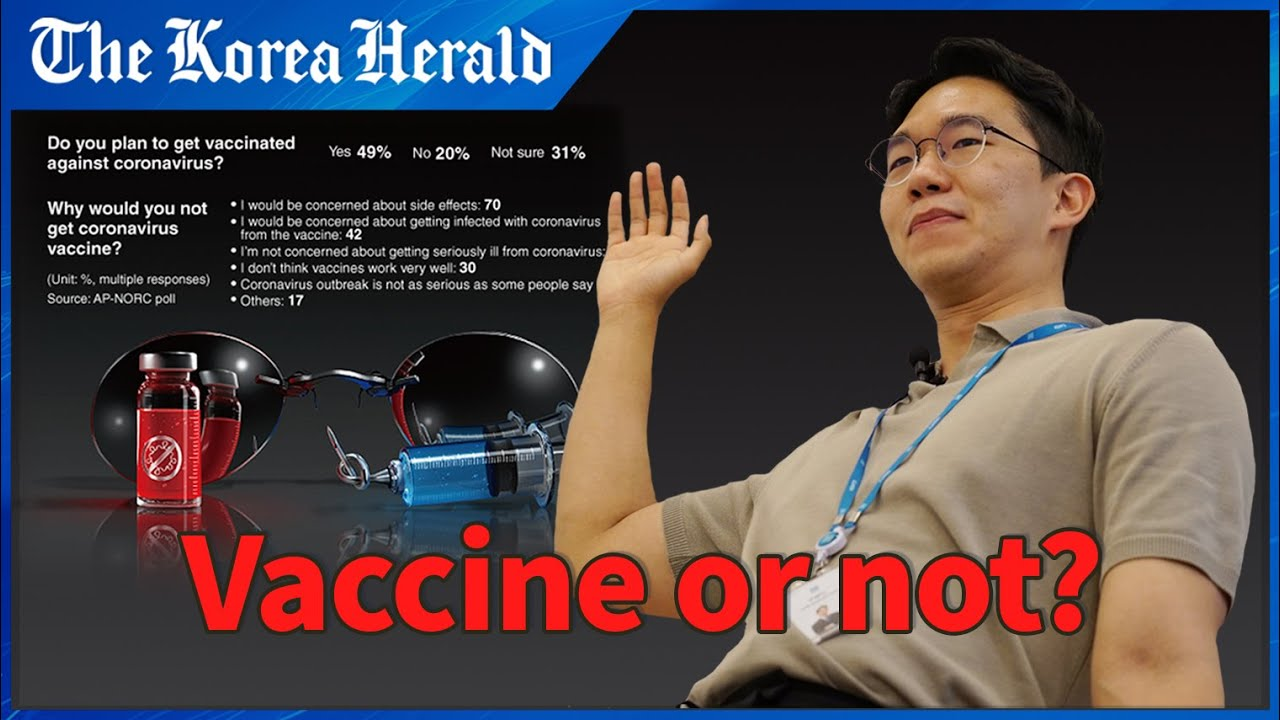 [Graphic News] 50% of Americans say they would get COVID-19 vaccine: poll