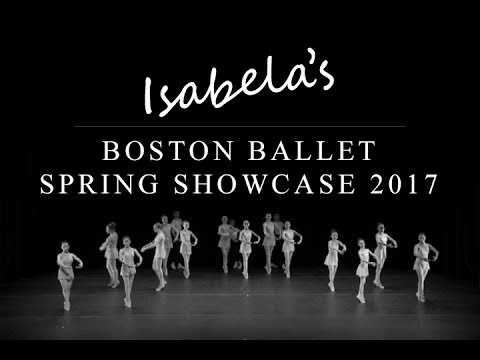 Isabela's Boston Ballet Spring Showcase 2017
