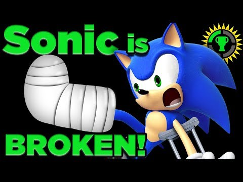 Game Theory: Can Sonic SURVIVE His Own Speed? Sonic the Hedgehog
