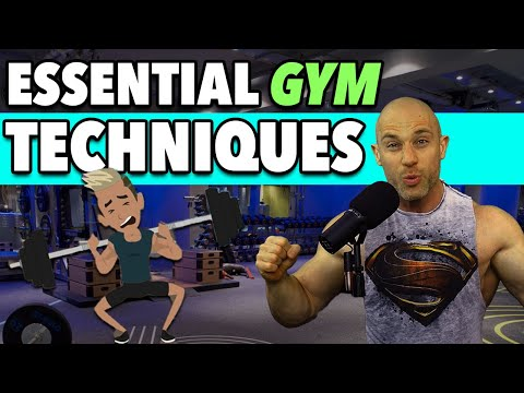 6 ESSENTIAL GYM Techniques YOU Can Use To Get Bigger TODAY!