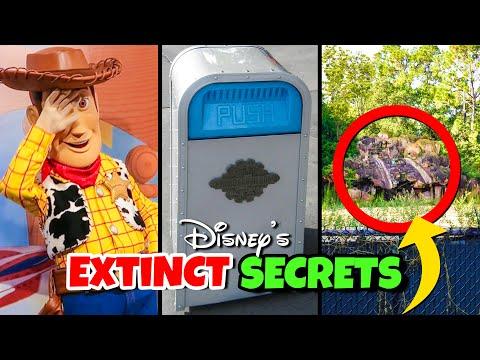 Top 7 Extinct Disney World Secrets