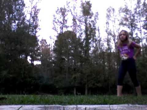 Doing gymnastics and giving yall a kind of house tour