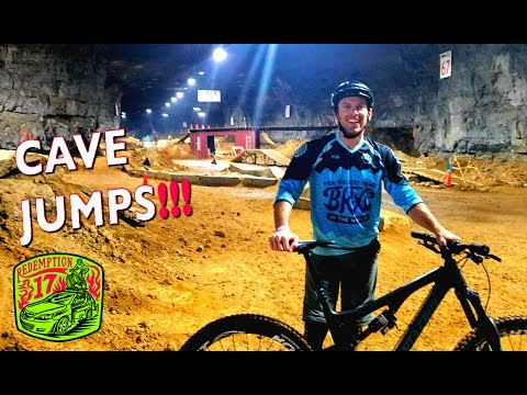 MTB in a CAVE!!! - Escaping the rain to the Louisville Megacavern | Redemption17 | Ep. 4