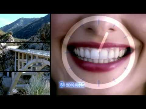 Crest 3D White 2 Hour Express TV Advert / Commercial - OFFICIAL!!