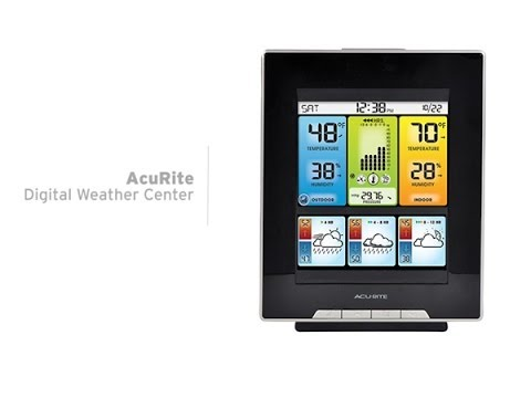 AcuRite Digital Weather Center with Morning Noon Night Forecast