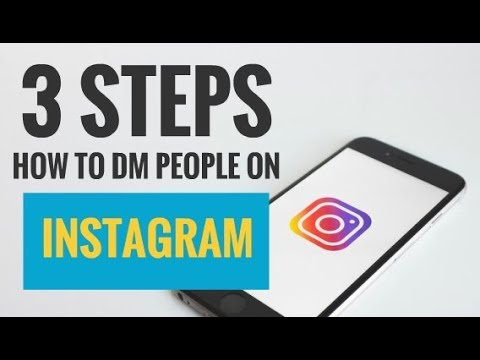 3 Steps How to DM People on Instagram