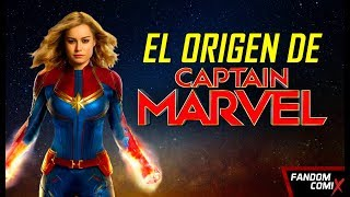 Capitana Marvel: Origen Secreto