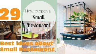 29  Best ideas about Small Restaurant Design | HD
