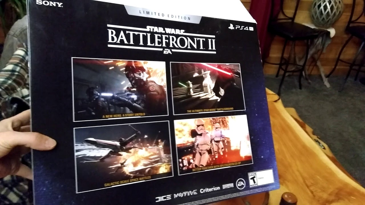 Unboxing ps pro limited edition battlefront youtube
