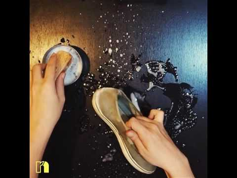 How to clean your shoes