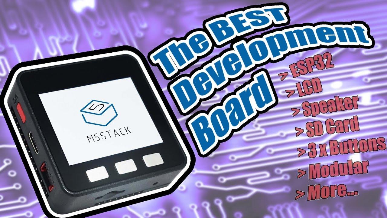 M5Stack Review (ESP32, Arduino, MicroPython)