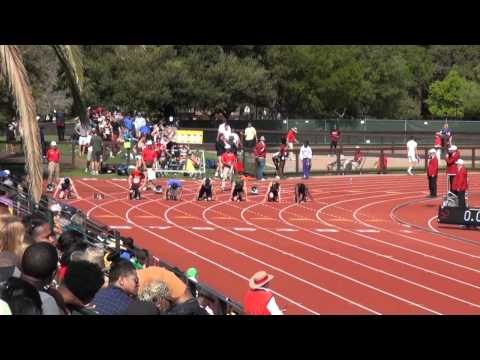 Stanford Invitational 2012, Boys 100M Dash Final (High School)
