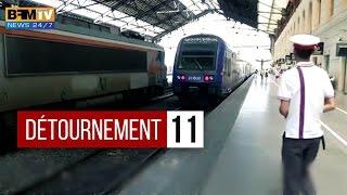Retard Record pour la SNCF - Détournement
