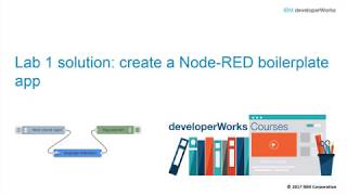 Node-RED: Lab 1 solution