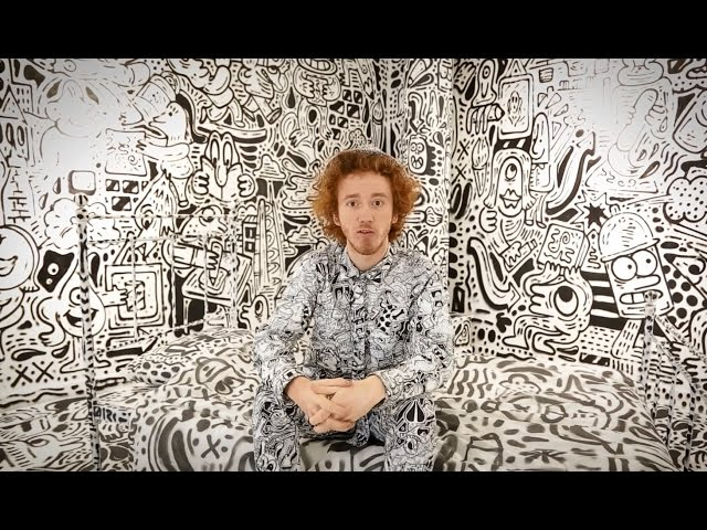 Cass Art Interview | Sam Cox (The Doodle Man) - Pick up a pen and DRAW