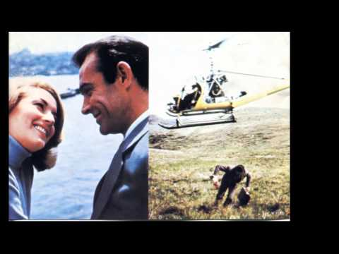 From Russia with Love theme song and pictures of the movie