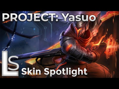 PROJECT: Yasuo - Skin Spotlight - PROJECT - League of Legends - Patch 10.13.1