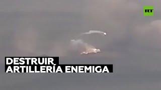 Armenia muestra la destrucción de artillería enemiga en Nagorno Karabaj