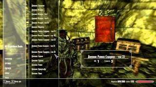 Самый крутой код в Skyrim(музей скайрима из которого можно взять любую вещь)